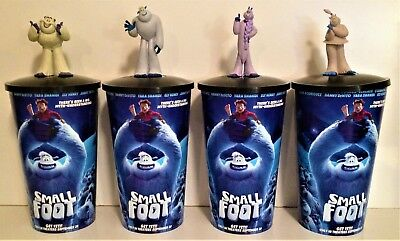 Smallfoot Movie Theater Exclusive Cup Topper Set With 44 oz Cups