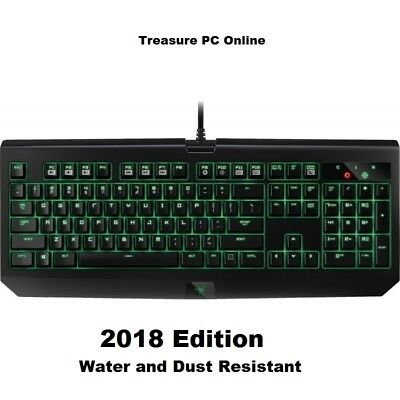 Razer BlackWidow Ultimate Mechanical Green Switch Gaming Keyboard RZ03-01703000