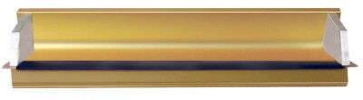 AWT Anodized Aluminum 12 in Emulsion Coater, 9 in Covering Area, Gold