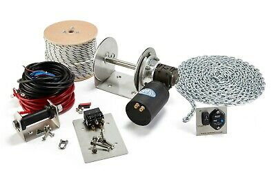 Electric Anchor Winch DRUM WINCH Australian Made kit TW200HD full kit