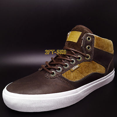 b20b189081c4f2 Vans BEDFORD DUCK HUNT BROWN MEN S MID TOP SKATE SHOES   ERA CHUKKA