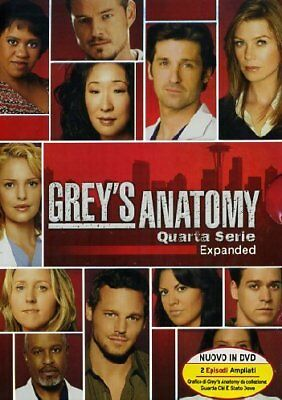 Greys Anatomy - Stagione 04 5 Dvd [2013]