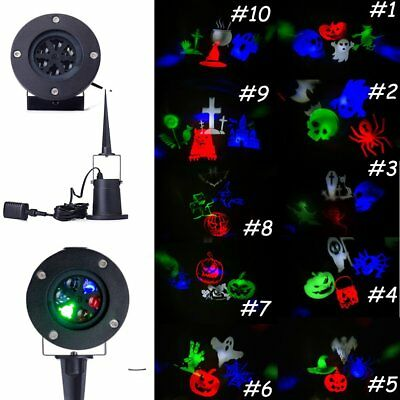 Halloween Laser LED Projector Light Landscape Outdoor Garden Party Stage Decor