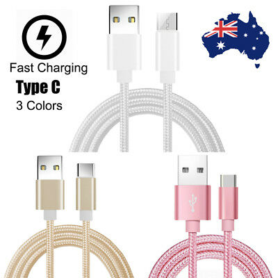 Type-C USB Data Snyc FAST Charger Charging Cable For Samsung Galaxy S9 S8 Google