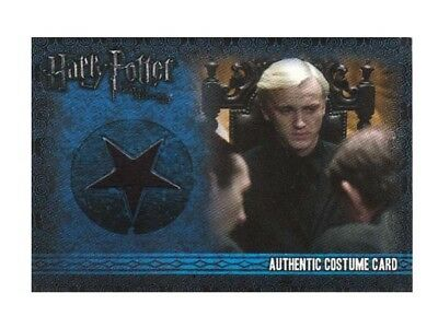 Harry Potter Draco Malfoy Tom Felton Costume Card Deathly Hallows C3 080/460 NM