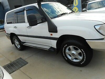 Toyota Landcruiser 2001-2006 100 Series Alloy Wheels And Tyres