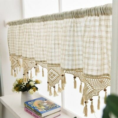 Lace Cafe Curtains Kitchen New Inspiration