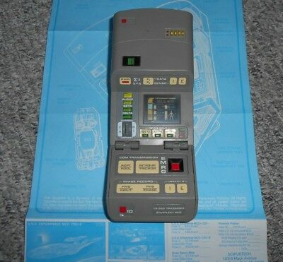 Star Trek Next Generation Medical Tricorder  mit Licht + Sound Playmates 1997
