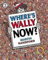 **LARGE SIZE** Where's Wally NOW? book 2 by Martin Handford BRAND NEW