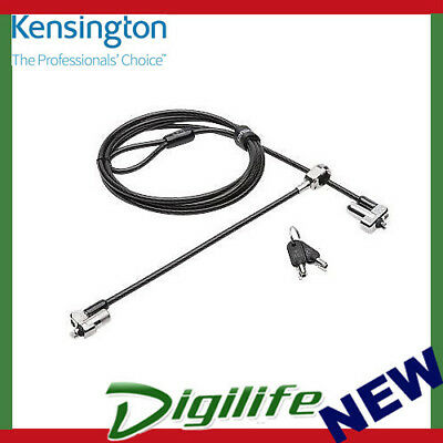 Kensington Ktg N17 Dual Head Laptop Lock For Dell Devices- Straight Cable 67995