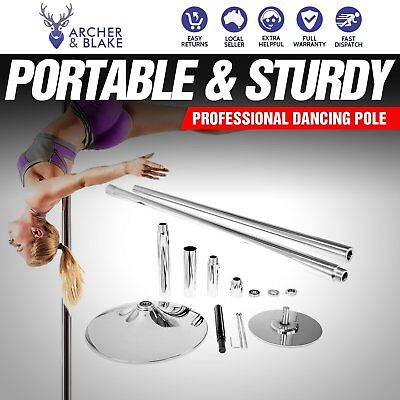 Portable Home Exercise Gym Fitness Dancing Pole Professional For Spinning Dance