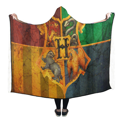 Hooded Blanket Wearable Hoodie Cape Shawl Warm Lightweight for Harry Potter