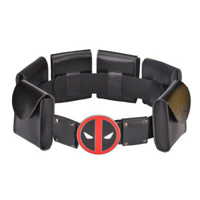 Metal Belt Deadpool X-Men Superhero Accessories Kid Adult Cosplay Costume New