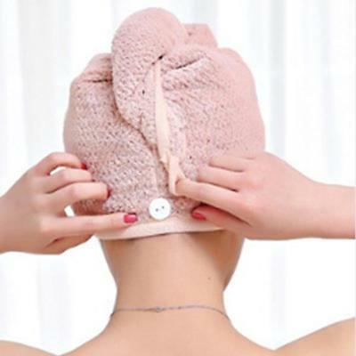 Hair Drying Towel Twist Wrap Quick Microfiber Fast Dry For Long T
