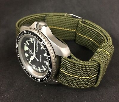 Cwc French Military Ndc Marine Nationale Watch Strap 21Mm Fits 20Mm [73038]