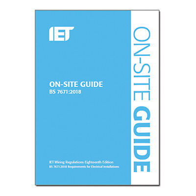 NICEIC 18th Edition Regs Book - On Site Guide