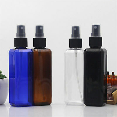1/2/5pcs 100ml Travel Clear Plastic Perfume Atomizer Empty Spray Bottle Sprayer