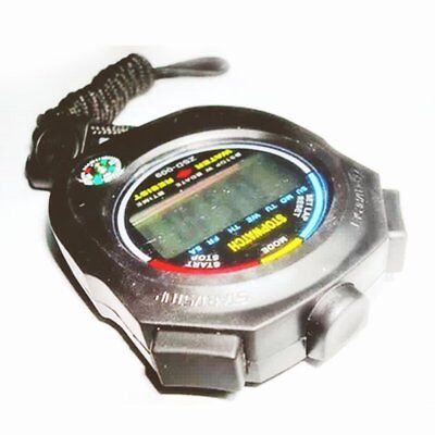 Waterproof Digital LCD Stopwatch Chronograph Timer Sports Alarm Counter