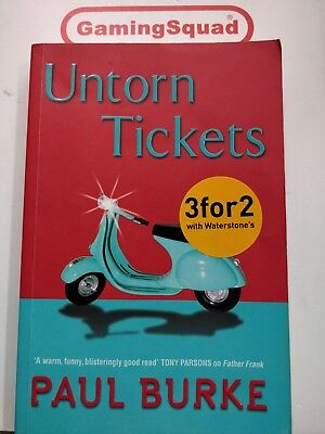 Untorn Tickets - Book, Supplied by Gaming Squad
