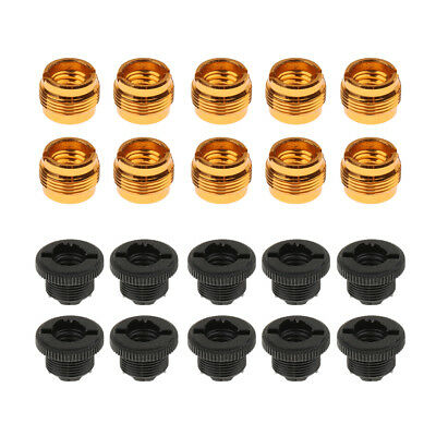 """10pcs Microphone Clip Thread Adaptor 3/8"""" to 5/8"""" Screws for Mic Stand Parts"""
