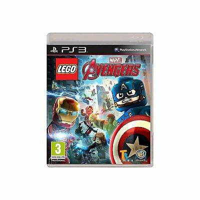 LEGO Marvel Avengers PS3 - Game for Sony PlayStation 3 NEW SEALED UK PAL 3+ Kids