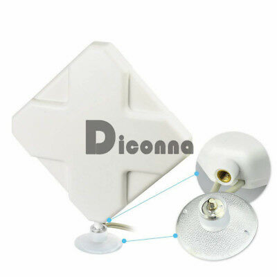 35dBi 4G LTE Booster Ampllifier MIMO Antenna SMA ST9 Telstra Optus for Huawei
