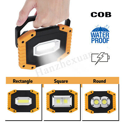 30W Inspection Waterproof COB LED Light Garden Car Work Night Rechargeable Lamp