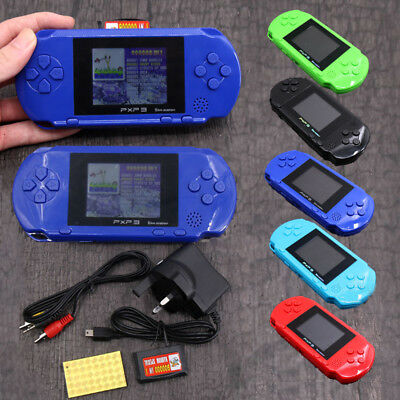 New AU Stock Retro Portable Pvp 3 Game Console Handheld 16 Bit Video 150+ Gift