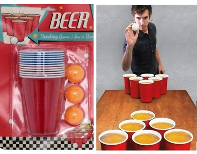 Beerboquet Classic Cup And Ball Game With Bottle Opener Adult Drinking Game