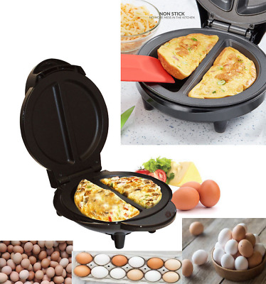 700W Electric Non Stick Omelette Maker Making Machine Breakfast Egg Cooking Pan