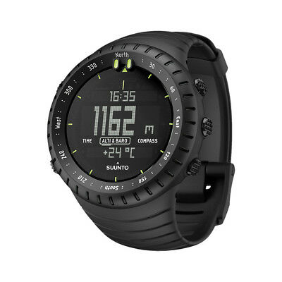Suunto Core all black 2018 Puls-messgerät Puls-Messer  schwarz