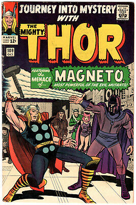 Journey Into Mystery #109 1964 FN Magneto Crossover & Cover App Silver Age Comic