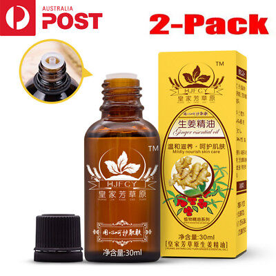 1/2-Pack 30ml Plant Therapy Lymphatic Drainage Ginger Oil [ 100% Natural ]  LG