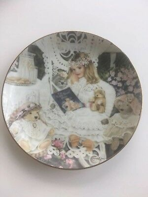 Bridget collector's Plate From The heirlooms Lace Collection By Corinne Layton
