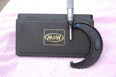 moore and wright micrometer