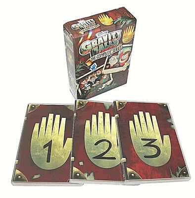 :Gravity falls the complete series(DVD,2018,7-Disc Set)NEW,ALL 2 SERIES +BONOS