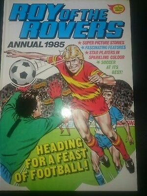 Roy Of The Rovers Annual 1985 good condition