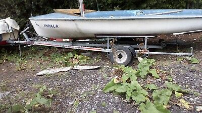 sbs 500boat trailer with free boat