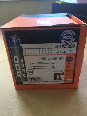 Spit Pulsa 800 C6-40 Fh Nails And Gas