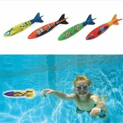 Throwing Toy 4Pcs/Pack Swimming Pool Diving Game Children Underwater Kids Gifts