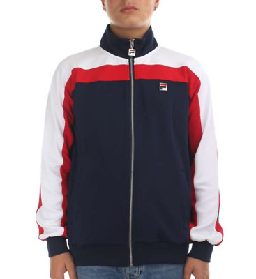 SALE FILA BLACK Line Riker Peacoat and Chinese Red Padded