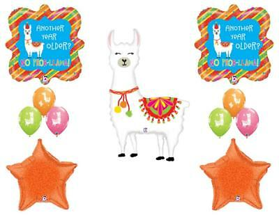 Llama Party Supplies Birthday Balloon Decoration Bundle Choose Your Age 9T...