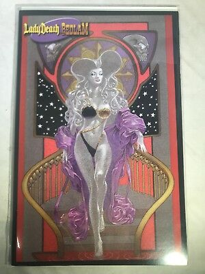 Lady Death Bedlam Premium Edition Variant Nm Limited To 2500 Daerick Gross Chaos