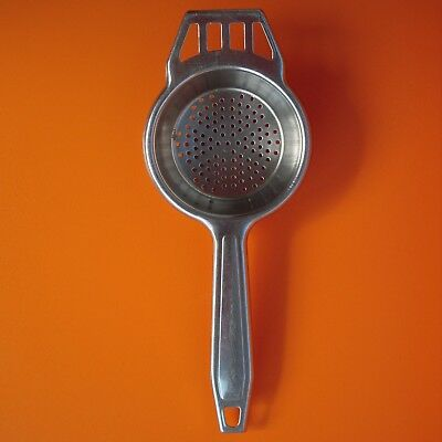 A Vintage Stainless Steel Tea Strainer by Sky-Line - Retro Kitchenalia Utensil