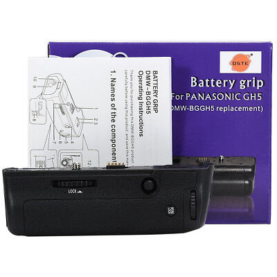 DSTE DMW-BGGH5GK DMW-BGGH5 Vertical Battery Grip for Panasonic DMW-GH5 GH5