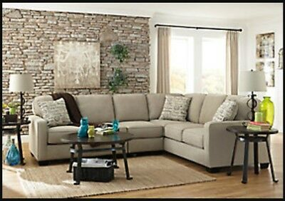 Light Tan Sectional Couch 25000 Picclick