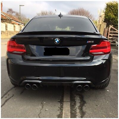 BMW M2/M3/M4/M5/M6 Carbon Akrapovic exhaust tips With Warranty And Best Fitting!