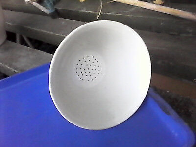 Royal Worcester Büchner funnel vintage 2/0 80mm porcelain ceramic vacuum filter