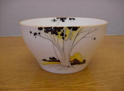 Shelley China - SUNSET & TALL TREES - Open Sugar Bowl - Oxford Shape