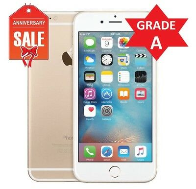 Apple iPhone 6 - 128GB - Gold (GSM Factory Unlocked) A1586 - GRADE A (R)